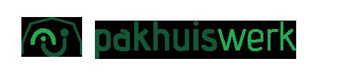 Het logo van Pakhuiswerk.